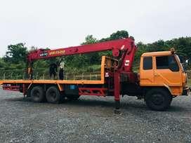 Crane Truck 15 Ton Mitsubishi Fuso 2016