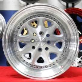 jual velg BAVARIA HSR-Ring.16-Lebar.8-9-PCD.4X100-4X1143-ET.30-25-SMFL