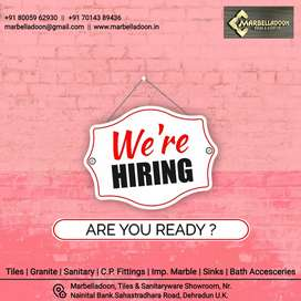 Required for our showroom office staff, sales