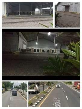 Gudang Ex Pabrik diKlaten 1,3Ha Jl.Solo Jogja 55M