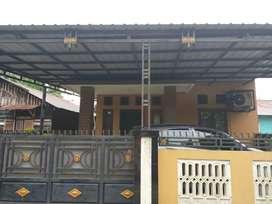 Rumah Hunian Letak Strategis Jalan Lintas Simpang Merbau