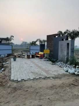For sale 160y house Rate13Lac.Dhandra road in puda Approved colony.