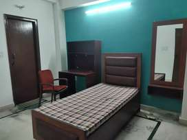 Single Room for girls in 3bhk fully furnished