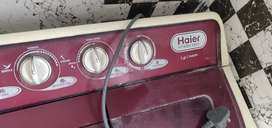 Haier washing in running condition