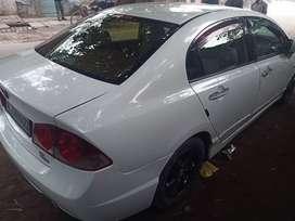 Honda civic Ivtec, petrol+CNG,2007 model ,Delhi number, in very good