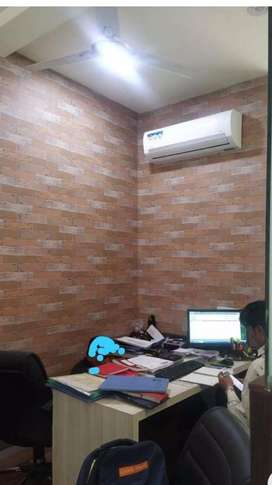 commercial furnished office available on rent south tukoganj indore