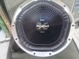 Subwoofer sony xplod xs-gtx121LB