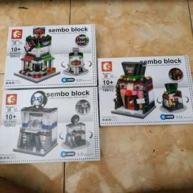 lego nonori sembo block showroom mobil