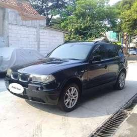 BMW X3 3.0 AWD A/T black on beige Tahun 2004