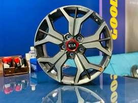 17 inches kia seltos gt line OEM diamond cut stock brand new alloys