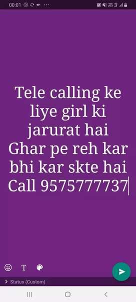 Home based job..tele calling for mobile shop