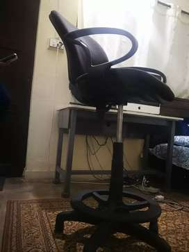 Revolving High Chair | Office | Counter | Reception w/ FOOT REST
