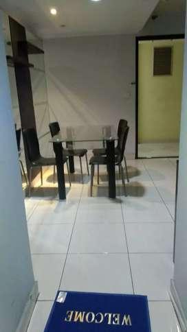 Di jual Apartemen taman rasuna 3 BR full furnish