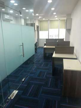 "On rent at ""ASTRA TOWER"" 24×7 warking time full furnished office spase"