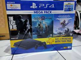SONY Playstation 4 Slim 1 TB Mega Bundle Pack