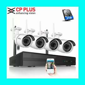 sale Offer New Cctv Cameras Full Hd Setup And Installation