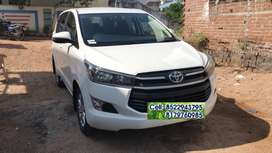 Rent Car With Brand-New Toyota Innova Crysta(No Self)