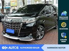 [OLX Autos] Toyota Alphard 2018 2.5 G ATPM A/T Bensin Hitam #Harrmoni