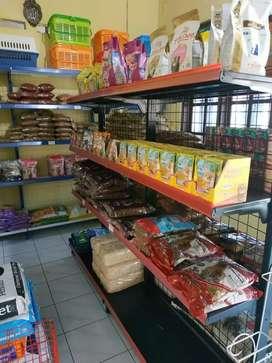 Rak Minimarket Toko Pet Shop