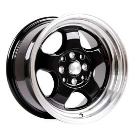 HSR-Brisket-JD5290-Ring-15x7-8-H8x100-1143-ET40-33-Gloss-Black-Machine
