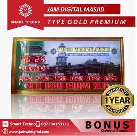 Jam Digital Masjid type Gold Premium