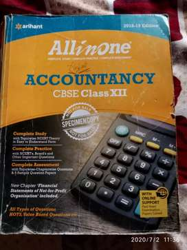 Arihant All in one Accountancy class 12