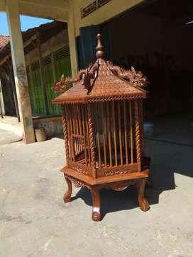 Kandang sangkar jati Bangkok,bekisar burung