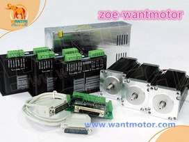 CNC KIT ,stepper motors,drivers,power supply