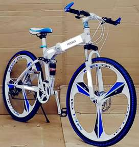 ALL NEW MAC WHEEL FOLDABLE CYCLE WITH 21 SHIMANO GEARS AVAILABLE.
