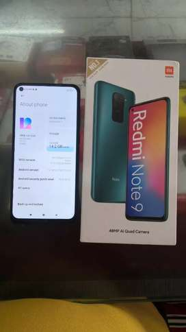 Mi note 9 for sell 3 month old