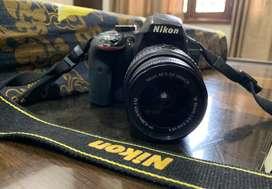 NIKON D3300 DSLR with AF-S NIKKOR 18-55 mm ,SD Card and DSLR Bag