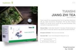 Jiang Zhi Tea (Teh Segudang Manfaat)