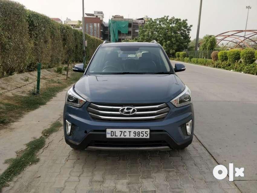 Hyundai Creta 1.6 SX Plus Petrol, 2016, Petrol 0