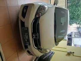 Jual mobil honda Brio satya E/cvt tahun 2017 warna putih, pjk bulan 12