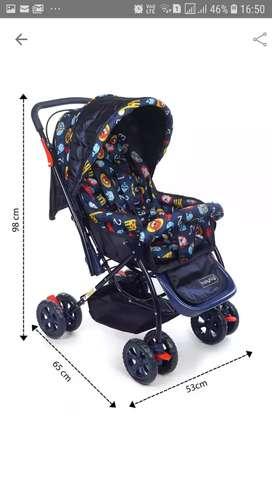 Babyhug cosy cosmo stroller pram with reversible handle