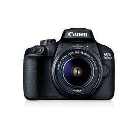 Canon EOS 3000D with EF-S 18-55mm III Kit RESMI