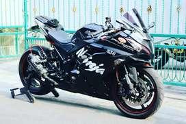 Kawasaki ninja 250fi modif kaki-kaki yamaha R1