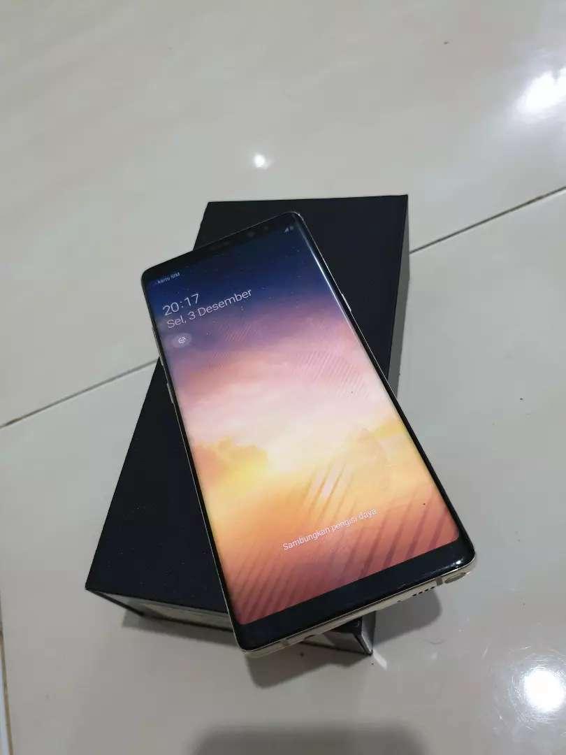 Samsung note 8 fullset normall semua mulus 0