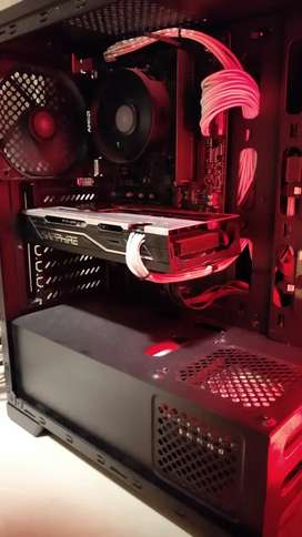 VGA AND Radeon RX 570 8 GB Saphire Pulse