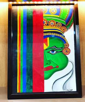 Handmade paintings- Acrylics