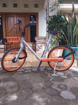 Sepeda Singapore tanpa rantai ( mobike gardan )