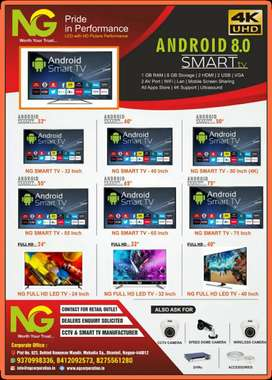 SMART TV MANUFACTURER IN ALL SIZE 24/34/55/65/75