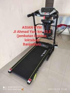 Ready treadmill listrik termurah Asian gym bisa cod