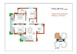 2BHK Apartment for Sale in Zara Rosa Sector-112 Gurgaon
