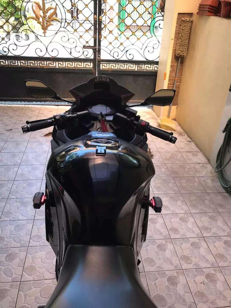 Ninja 250 th 2015 plat L full modif an sendiri 0