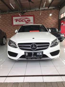 Mercedes Benz C200 AMG LINE 2018 LOW KM ANTIK FULL ORIGINAL