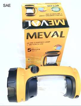 senter meval camping plus solar charger