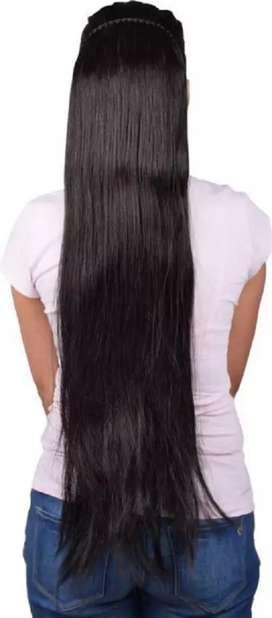 छोटे बालों को लंबे दिखाए