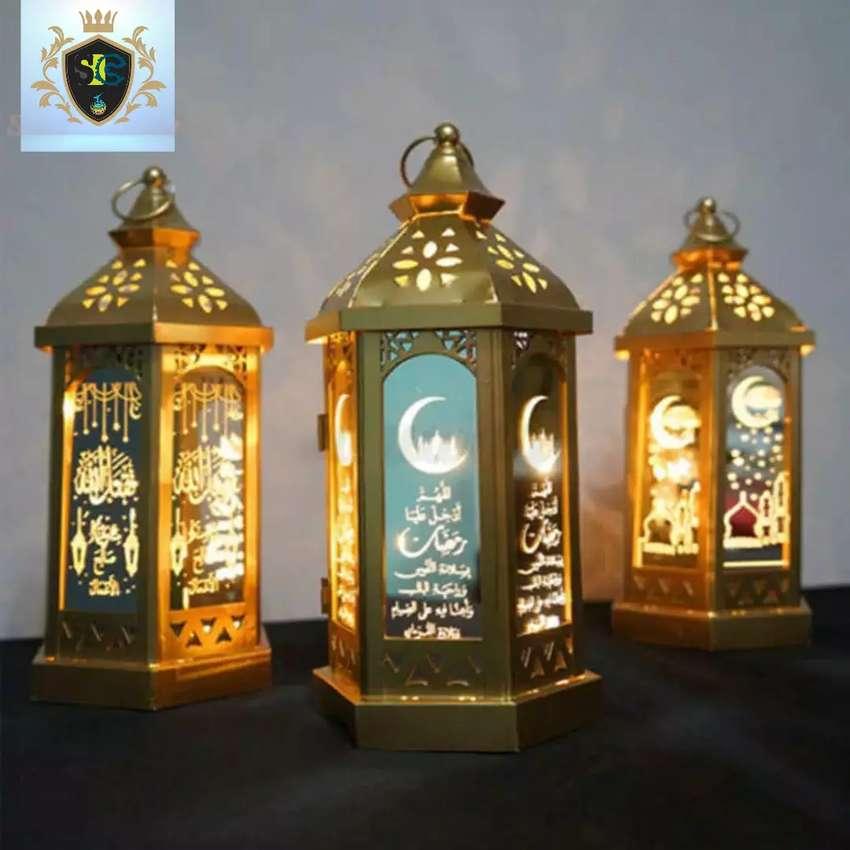 Lampu hias / lampu lampion/lampu gantung/lampu decor muslim 14 x 28 0