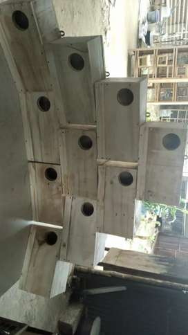 Cage manufacturer in wood and metal